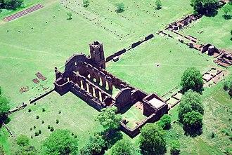 Ruins of São Miguel das Missões - Image: 18a Patrimônio Histórico de São Miguel das Missões foto fernando gomes