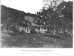 Sojourner Truth - House of Col. Johannes Hardenbergh