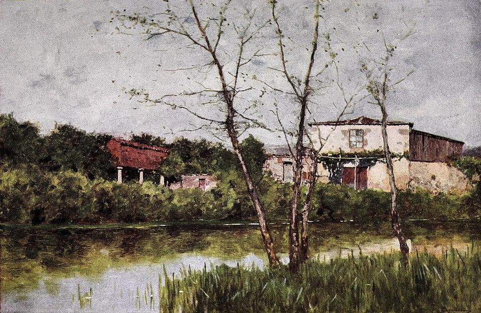 1907-06-15, Blanco y Negro, Orillas del Miño, Avendaño (cropped)