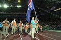 191000 - Opening Ceremony swimmer Brendan Burkett Australian team - 3b - 2000 Sydney opening ceremony photo.jpg