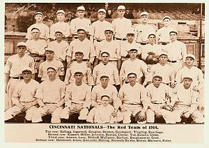 1914 Cincinnati Reds season - The 1914 Cincinnati Reds