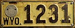 1917 Wyoming License Plate 1231.jpg