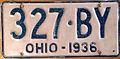 1936 Ohio license plate.JPG