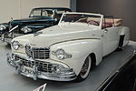 1948 Lincoln Continental Convertible (Warbirds & Wheels museum).jpg