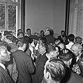 1957 Visite du ministre de l'agriculture Mr ANDRE DULIN au CNRZ-1-cliche Jean Joseph Weber.jpg