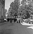 1957 Visite du ministre de l'agriculture Mr ANDRE DULIN au CNRZ-23-cliche Jean Joseph Weber.jpg