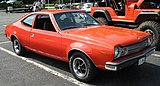 1973 Hornet hatchback V8 red MD-fr.jpg