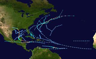 1974 Atlantic hurricane season hurricane season in the Atlantic Ocean