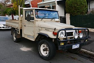 Toyota Land Cruiser (J40) - 1981 Land Cruiser HJ47 utility