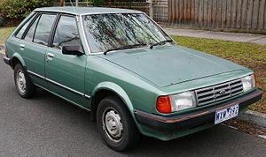 Ford Laser - Ford Laser (KB) GL 5-door