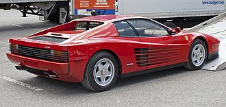 Ferrari Testarossa - 1986 Ferrari Testarossa (USA)