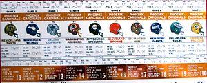 1988 Phoenix Cardinals season - Season tickets for the Cardinals' 1988 inaugural season in Arizona.