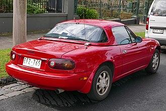 Mazda MX-5 - Mazda MX-5 hardtop (Australia)