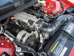 Chevrolet small-block engine - GM LT1 from a 1993 Chevrolet Camaro Z28.