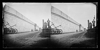 Fort Hamilton - Sentry, Fort Hamilton, Brooklyn, ca. 1872-1887