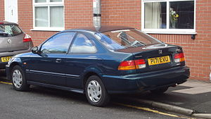 Honda Civic (sixth generation) - Coupé (pre-facelift)