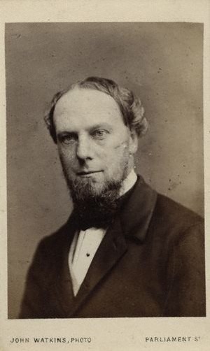 Under-Secretary of State for India - Image: 1st Earl of Kimberley 1868