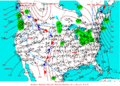 2003-01-24 Surface Weather Map NOAA.png
