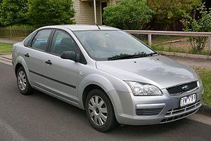 Ford Focus (second generation, Europe) - Image: 2005 Ford Focus (LS) CL sedan (2016 01 04) 01