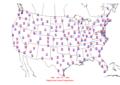 2006-06-29 Max-min Temperature Map NOAA.png