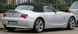 BMW Z4 - E85 Z4 2.5si