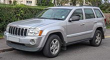 2006 Jeep Grand Cherokee (UK)