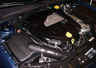 GM High Feature engine - 2.8 L turbo V6 in a 2006 Saab 9-3