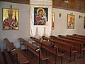 2006 july Presov Basilian monastery interier church 1.jpg