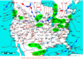 2007-01-23 Surface Weather Map NOAA.png
