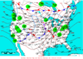2008-01-06 Surface Weather Map NOAA.png