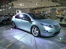 First Production Version Of The Chevrolet Volt At 2008 Australian International Motor Show