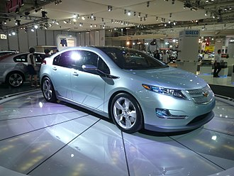 Chevrolet Volt - First production version of the Chevrolet Volt at the 2008 Australian International Motor Show