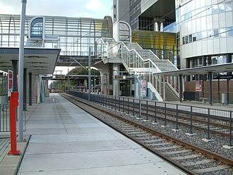 Driemanspolder RandstadRail station - Image: 2008 Station Driemanspolder (03)