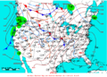 2009-02-06 Surface Weather Map NOAA.png