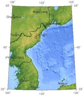 2009 Kuzey Kore nükleer test.png