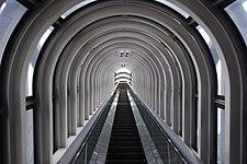20100715 Osaka Umeda Sky Building escalator 1855.jpg