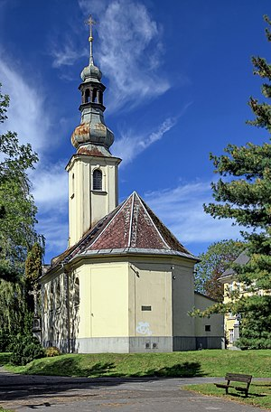 Fryštát - Saint Mark Church in Fryštát