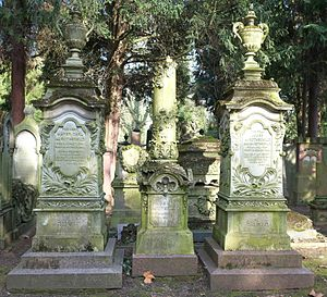 Old Jewish Cemetery, Frankfurt - Grave of Louise and Mayer Carl von Rothschild