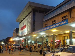Hanoi railway station - Hanoi Railway Station, 2013.