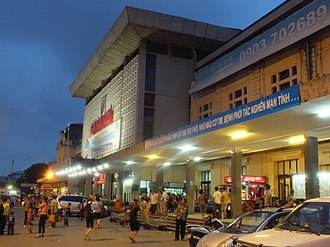 Hanoi railway station - Hanoi Railway Station in 2013