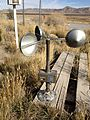 2013-10-20 14 20 39 Anemometer used to measure for wind movement at an evaporation pan.JPG