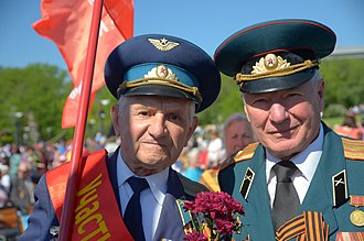 Veteran - Russian military war veterans