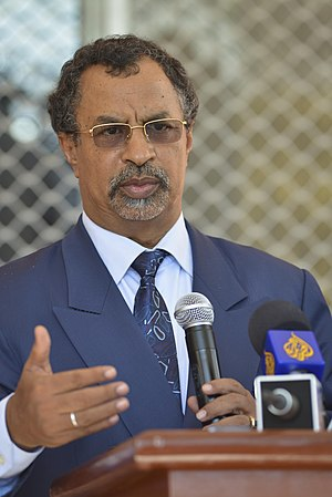 Minister of Foreign Affairs (Chad) - Image: 2013 01 08 SRCC Saleh A (8370040018)
