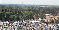 2013 Woodstock 120 pole namiotowe.jpg