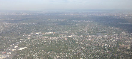 View of Hackensack from a plane 2014-05-07 16 21 13 View of Hackensack, New Jersey from an airplane heading for Newark Airport-cropped.JPG