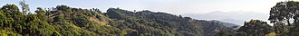 Phrao District - Image: 2014 Pano mountains Phrao district