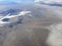 2015-11-03 07 22 33 View south across the Utah Test Range in the Great Salt Lake Desert, Utah from an airplane flying from Reno, Nevada to Salt Lake City, Utah.jpg