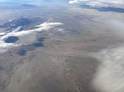 2015-11-03 07 22 33 View south across the Utah Test Range in the Great Salt Lake Desert, Utah from an airplane flying from Reno, Nevada to Salt Lake City, Utah.jpg