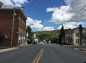 Monterey, Virginia - Main Street in Monterey
