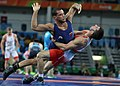 2016 Summer Olympics, Greco-Roman Wrestling 66 kg - Shmagi Bolkvadze v Omid Norouzi.jpg